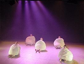 Woking Dance - support of 24 contemporary dance workshops as part of the 2003 Festival of International Dance in Woking