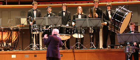 Music for Youth - towards four 'Primary Prom' free concerts for 11,000 inner city children aged from 4 - 11 years at the RFH London and the Symphony Hall Birmingham in 2004